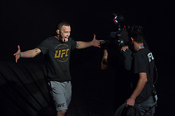 October 27, 2017 - Sao Paulo, Sao Paulo, Brazil - UFC fighter COLBY COVINGTON of the United States during the weigh-in event prior to the UFC Fight Night Sao Paulo, at the Ibirapuera Gymnasium in Sao Paulo Brazil. (Credit Image: © Paulo Lopes via ZUMA Wire)