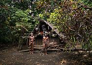Vanuatu, Malampa Province, Ambrym Island, nakamal chief house