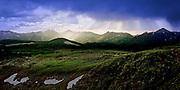 Never Summer Mountains panorama