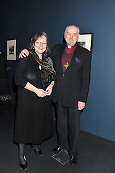 Bishop of London RICHARD CHARTRES and his wife CAROLINE at a private view of Photographs by Cecil Beaton celebrating the diamond jubilee of HM The Queen Elizabeth 11 at the Victoria & Albert Museum, Cromwell Road, London on 6th February 2012.