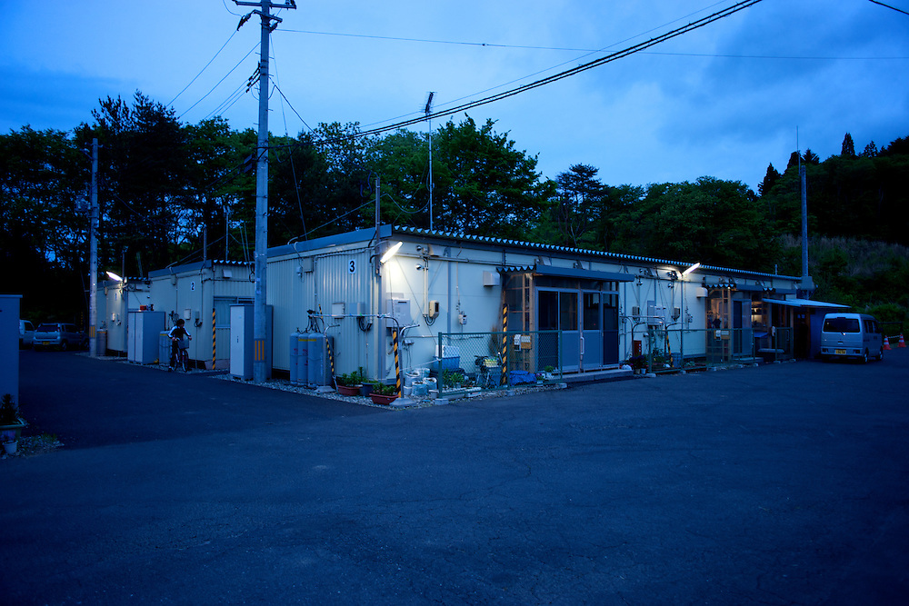May 28, 2013 - Togura, Japan: Prefabricated houses used as temporary shelter for families who lost their homes during the devastating earthquake and tsunami that hit the east coast of Japan in 2011. On the third anniversary of the disaster, nearly 270,000 remain displaced. (Paulo Nunes dos Santos)