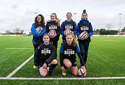 Ball technicians from Dings RFC - Mandatory by-line: Paul Knight 12/2019 - RUGBY - Shaftesbury Park - Bristol, England - Bristol Bears Women v Gloucester-Hartpury Women - Tyrrells Premier 15s