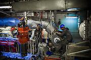 Repairing marine engine