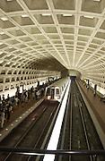 Washington, D.C. Metro Station, Metro Cars, Metro Setting