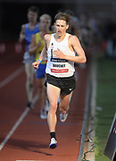 May 16, 2019; Los Angeles, CA, CA, USA; Lucas Bruchet places 11th in the 5,000m in 13:45.26 during the USATF Distance Classic at Occidental College.