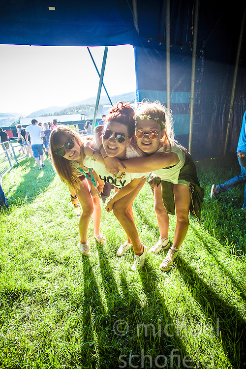 """Friday at Rockness 2013, the annual music festival which took place in Scotland at Clune Farm, Dores, on the banks of Loch Ness, near Inverness in the Scottish Highlands. The festival is known as """"the most beautiful festival in the world"""" ."""