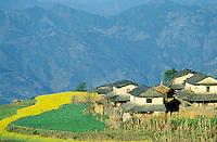 Nepal - Region de Gorkha - Village gurung de Barpak