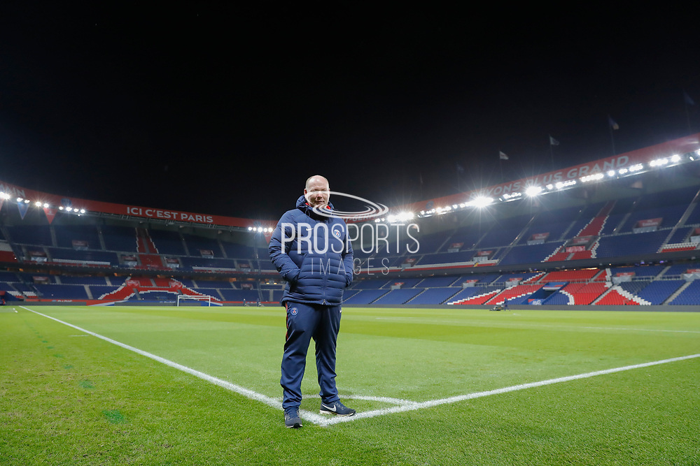 Jonathan Calderwood (PSG) is pictured at the end of the game during the French Championship Ligue 1 football match between Paris Saint-Germain and ESTAC Troyes on November 29, 2017 at Parc des Princes stadium in Paris, France - Photo Stephane Allaman / ProSportsImages / DPPI