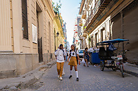 School kids, Old Havana, Cuba 2020 from Santiago to Havana, and in between.  Santiago, Baracoa, Guantanamo, Holguin, Las Tunas, Camaguey, Santi Spiritus, Trinidad, Santa Clara, Cienfuegos, Matanzas, Havana