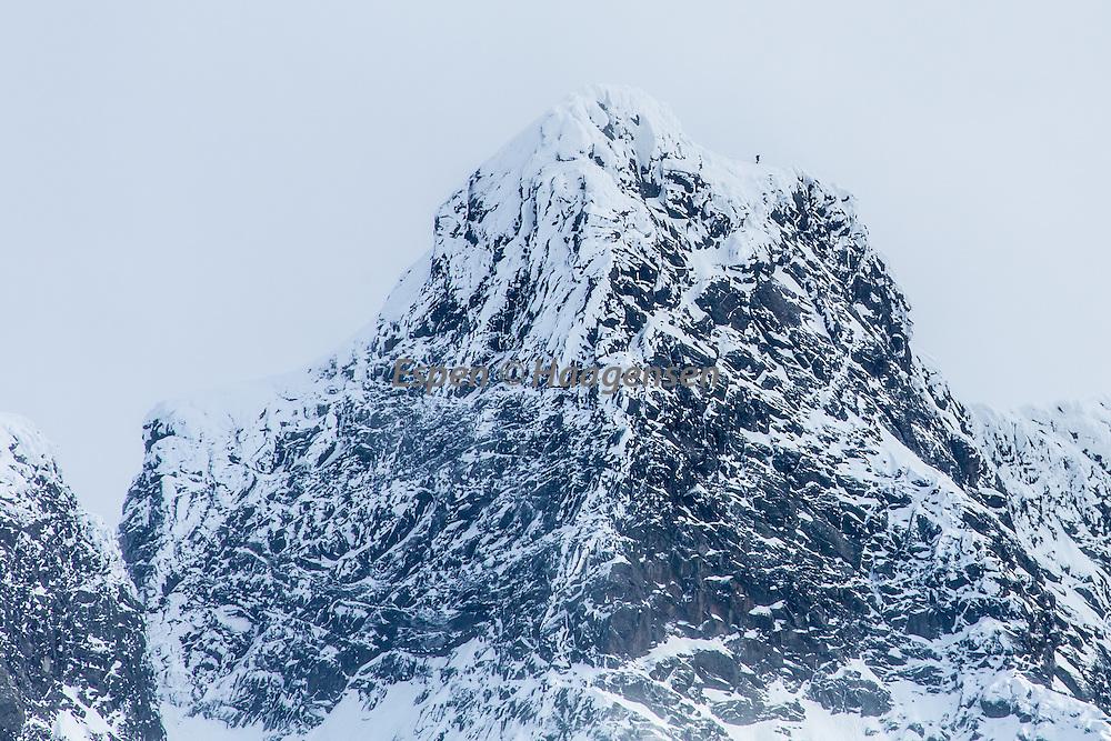 Climber on Vetle