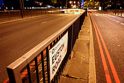 UK ENGLAND LONDON 17AUG04 - Deserted ring Road A40 Euston Underpass in central London in the early morning hours...jre/Photo by Jiri Rezac ..© Jiri Rezac 2004..Contact: +44 (0) 7050 110 417.Mobile:  +44 (0) 7801 337 683.Office:  +44 (0) 20 8968 9635..Email:   jiri@jirirezac.com.Web:    www.jirirezac.com..© All images Jiri Rezac 2004 - All rights reserved.