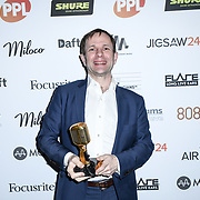 International producerof the year Winner Finneas o'Connell of The Music Producers Guild Awards at Grosvenor House, Park Lane, on 27th February 2020, London, UK.
