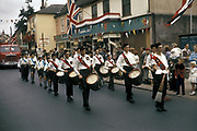 Parade for the Queens visit to Stowmarket, UK, 1960's