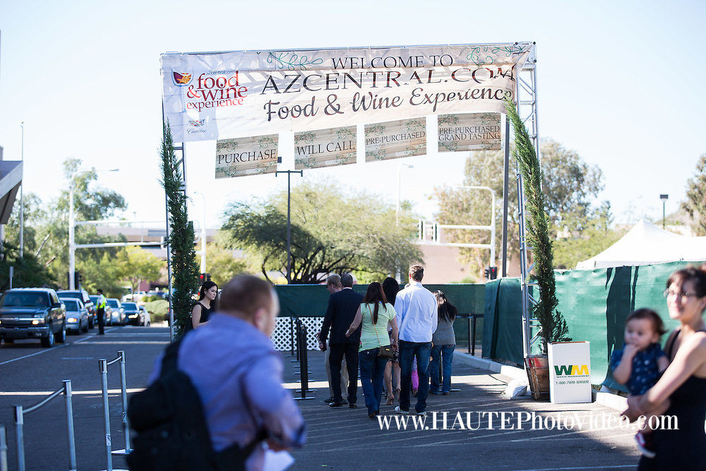 """""""AZ Central Food and Wine Experience at Scottsdale Fashion Square"""""""