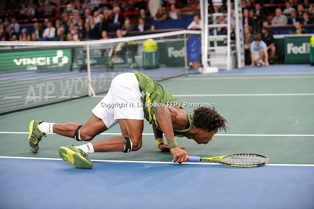 , BNP Paris Masters Tennis, Paris France. 9 November 2011. Photo: Panoramic Tennis : BNP Paribas Masters - Open de Bercy - 09.11.2011<br /> <br /> Gael Monfils (Fra)