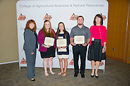 Freshmen and Transfer Student scholarship reception.<br />  J. Robert Bob Wasson Scholarship in Agriculture.