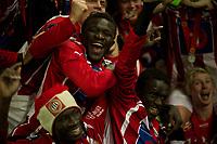 Fotball: 27.011 2011 , Tippeligaen Eliteserien ,<br /> Start - Tromsø<br /> <br /> Jubel, sølv, felles