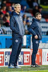 Brighton Manager Sami Hyypia looks on - Photo mandatory by-line: Rogan Thomson/JMP - 07966 386802 - 21/10/2014 - SPORT - FOOTBALL - Huddersfield, England - The John Smith's Stadium - Huddersfield Town v Brighton & Hove Albion - Sky Bet Championship.