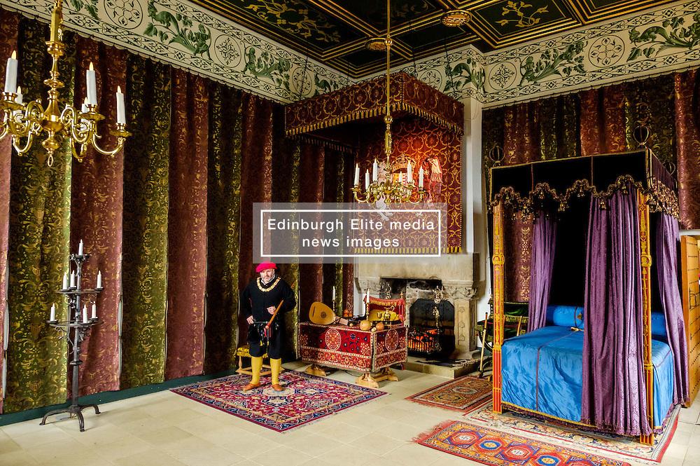 The Queen's Bedchamber, Stirling Castle, Scotland<br /> <br /> (c) Andrew Wilson | Edinburgh Elite media