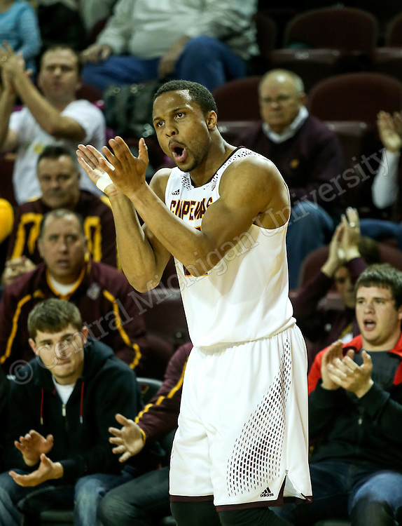 CENTRAL MICHIGAN University was defeated by Bowling Green University in mens basketball. Photo by Steve Jessmore/Central Michigan University