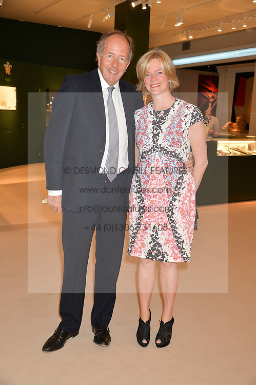 LORD & LADY BRUCE DUNDAS at the Masterpiece Marie Curie Party supported by Jeager-LeCoultre held at the South Grounds of The Royal Hospital Chelsea, London on 30th June 2014.