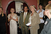 Juliet Rylance, MARK RYLANCE, VANESSA REDGRAVE, Vanessa Redgrave and Thelma Holt host a reception at the<br />Theatre Museum in Russell Street (in Covent Garden) to campaign proposed move of museum out of the West End. Tuesday 16 May 2006ONE TIME USE ONLY - DO NOT ARCHIVE  © Copyright Photograph by Dafydd Jones 66 Stockwell Park Rd. London SW9 0DA Tel 020 7733 0108 www.dafjones.com