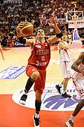 DESCRIZIONE : Pistoia Lega serie A 2013/14  Giorgio Tesi Group Pistoia Pesaro<br /> GIOCATORE : pecile andrea<br /> CATEGORIA : tiro sottomano<br /> SQUADRA : Pesaro Basket<br /> EVENTO : Campionato Lega Serie A 2013-2014<br /> GARA : Giorgio Tesi Group Pistoia Pesaro Basket<br /> DATA : 24/11/2013<br /> SPORT : Pallacanestro<br /> AUTORE : Agenzia Ciamillo-Castoria/M.Greco<br /> Galleria : Lega Seria A 2013-2014<br /> Fotonotizia : Pistoia  Lega serie A 2013/14 Giorgio  Tesi Group Pistoia Pesaro Basket<br /> Predefinita :