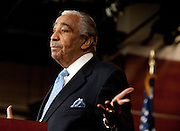 Dec 2, 2010 - Washington, District of Columbia, U.S. - Rep. CHARLIE RANGEL (D-NY) speaks to the media following his censure on the floor of the House of Representatives. The House voted 333-79 to formally censure Rep. Rangel for a series of House ethics violations, the first time in nearly 30 years that the chamber has censured one of its members. .(Credit Image: © Pete Marovich/ZUMA Press)