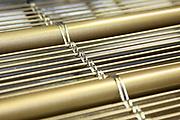 D&uuml;ren. 15.03.17 | BILD- ID 046 |<br /> GKD - Gebr. Kufferath AG. Metallfassade f&uuml;r die Neue Mannheimer Kunsthalle.<br /> Das Unternehmen in D&uuml;ren produziert Fassaden f&uuml;r die Architektur aus Metall. Ein gewebtes Metallgitter wird von Aussen an die Fassade montiert. <br /> Kunsthallendirektorin Dr. Ulrike Lorenz besucht das Unternehmen in D&uuml;ren und freut sich &uuml;ber die technische Umsetzung mit einer speziell goldenen Pigmentierung der Edelstahlstreben.<br /> Bild: Markus Prosswitz 15MAR17 / masterpress (Bild ist honorarpflichtig - No Model Release!)