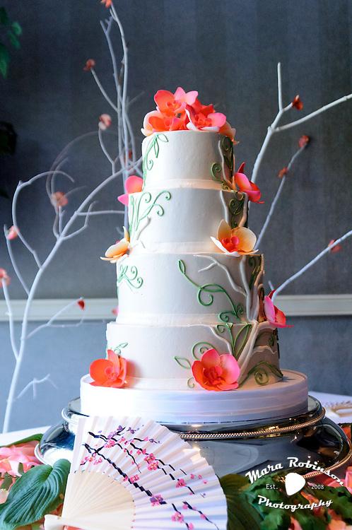 Japanese Cherry Blossom Wedding Cake By Tallmadge Wedding