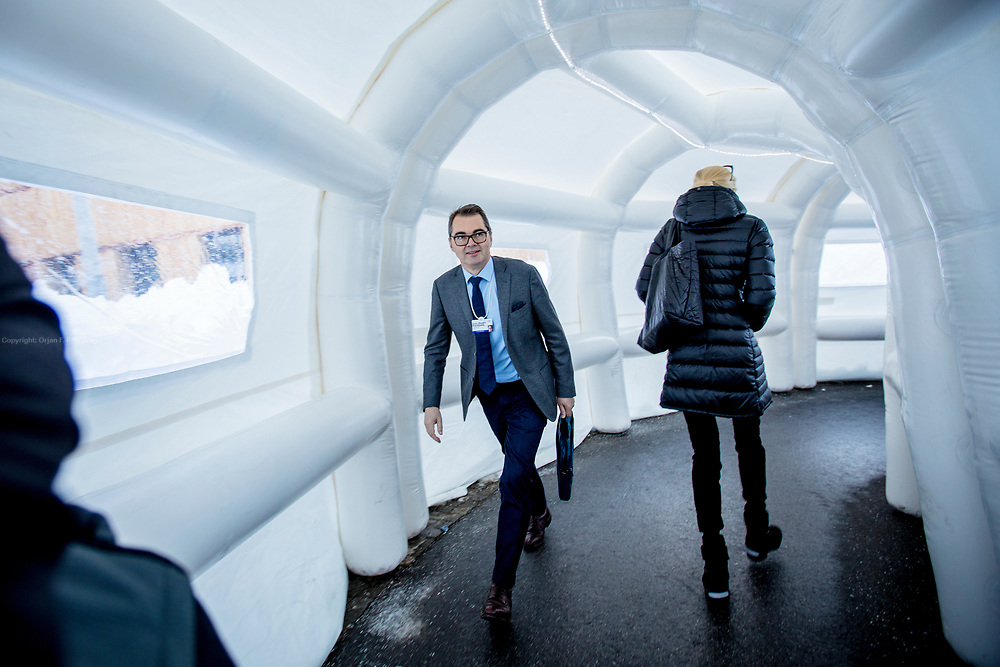 CEO of Norsk Hydro, Svein Richard Brantzæg at the World Economic Forum - WEF.