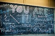 Blackboard of kind thoughts Charleston, SC
