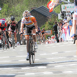 CYCLING, Huy (Belgium): The fourth race in de UCI womens worldcup Fleche Walonne. Annemiek van Vleuten
