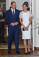 KATE & Prince William Atten Governor-General Reception