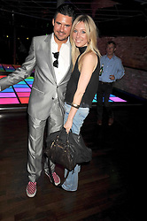 EDWARD TAYLOR and CAMILLA SMITH at the launch party of the new Embargo 59 nightclub at 533 Kings Road, London on 25th June 2009.