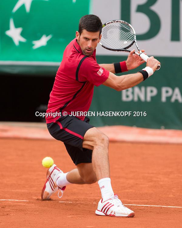 Novak Djokovic (SRB)<br /> <br /> Tennis - French Open 2016 - Grand Slam ITF / ATP / WTA -  Roland Garros - Paris -  - France  - 3 June 2016.