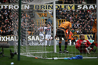 Photo: Rich Eaton.<br /> <br /> Wolverhampton Wanderers v West Bromwich Albion. The FA Cup. 28/01/2007. West Broms Zoltan Gera #11 celebrates scoring in the second half to make the score 3-0
