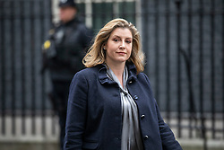 © Licensed to London News Pictures. 18/12/2018. London, UK. Secretary of State for International Development Penny Mordaunt leaves 10 Downing Street after the Cabinet meeting. Tomorrow will mark 100 days to go before the 29 March 2019 deadline for leaving the European Union. Photo credit: Rob Pinney/LNP