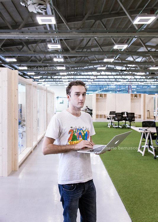 Milan, Talent Garden coworking company. Marco de Rossi, cofondatore e CEO di OilProject