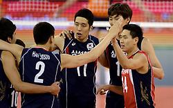 01-06-2014 NED: WLV Nederland - Zuid Korea, Eindhoven<br /> Min-Ho Choi, Kang-Joo Lee