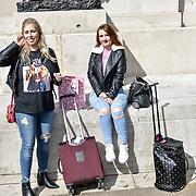 Hannah Cook ,Christie Hilton attend Cash & Rocket Photocall at Wellington Arch, on 6 June 2019, London, UK