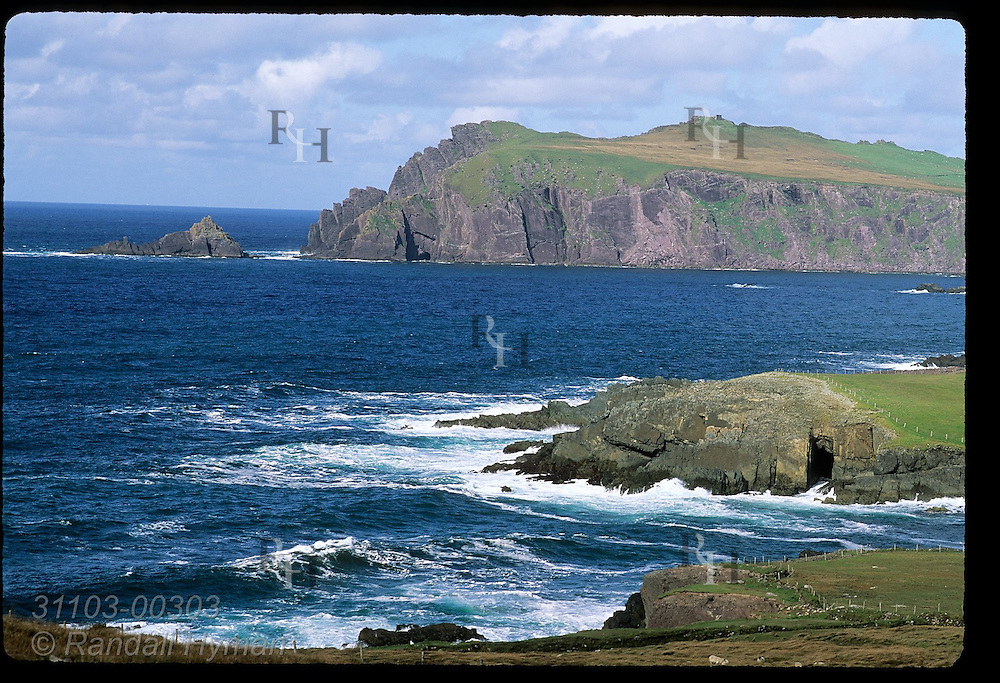View of Sybil Head from the tip of the Dingle Peninsula; Ireland