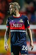 Doncaster Rovers midfielder James Coppinger (26) during the EFL Sky Bet League 1 second leg Play-Off match between Charlton Athletic and Doncaster Rovers at The Valley, London, England on 17 May 2019.