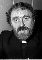 Father Michael Cleary. Febuary, 1981. (Part of the Independent Ireland Newspapers/NLI Collection)