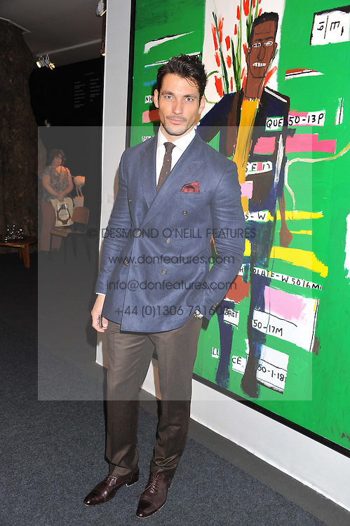 PAD London 2012 held in Berkeley Square, London on 10th October 2012.<br /> Picture shows:- DAVID GANDY.