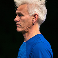 The Way you Look (at me) Tonight ;<br /> CUNNINGHAM AND CURTIS ;<br /> Jess Curtis (Choreographer) ;<br /> Royal Festival Hall, Southbank ;<br /> 7 September 2016 ;<br /> Credit : Pete Jones / ArenaPal ;<br /> www.arenapal.com