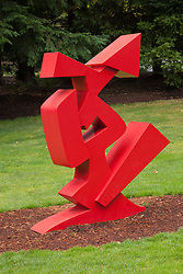 United States, Washington, Bellevue, Downtown Park, sculpture in Bellwether 2012 outdoor sculpture exhibition