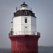 Baltimore Harbor Light(house) in Chesapeake Bay, MD on Sept, 4, 2011.