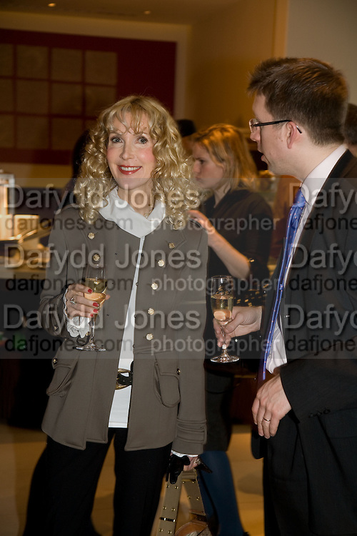 BASIA BRIGGS AND RICHARD EDEN, Lisa B celebrates  publication of  Lisa B's Lifestyle Essentials, a guide on how to 'get the most out of life'. Hotel Intercontinental, Park Lane, London, W1. 10 April 2008.  *** Local Caption *** -DO NOT ARCHIVE-© Copyright Photograph by Dafydd Jones. 248 Clapham Rd. London SW9 0PZ. Tel 0207 820 0771. www.dafjones.com.