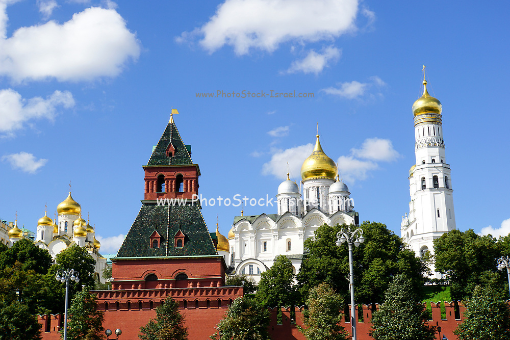 River cruise, Kremlin, Moscow, Russia